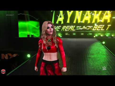 WWE2K18: Taynara Conti vs Sonya Deville