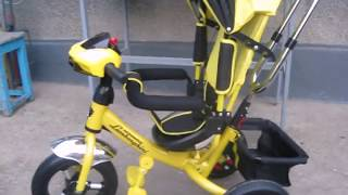 Распаковка и сборка трёхколёсного велосипеда Lamborghini AIR L2