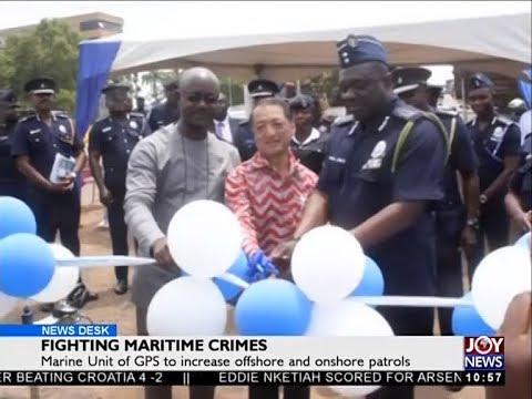 Fighting Maritime Crimes - News Desk on JoyNews (16-7-18)