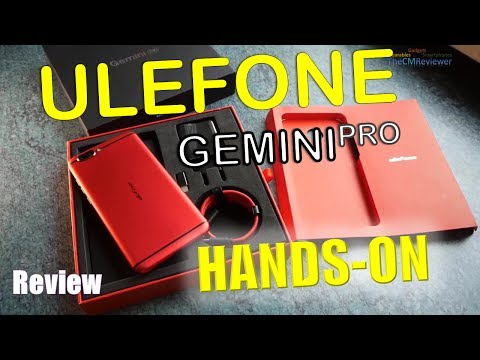 "Ulefone Gemini Pro | Review | Helio X27 Android 7.1.1 - Compare with ""NoPro"" - Deutsch (engl. Hints)"