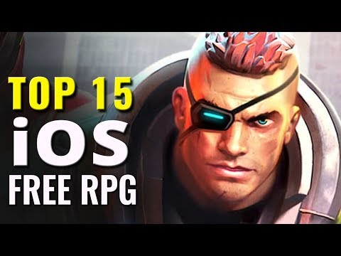 Top 15 Best Free iOS Role Playing Games | Free RPG for iPads and iPhones