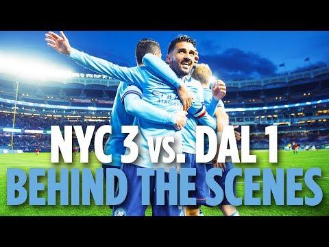 Villa Scores 400 | BEHIND THE SCENES | NYCFC 3 vs. FC Dallas 1 | 04.29.18
