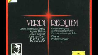 Verdi, Karajan :  Dies Irae - Tuba Mirum