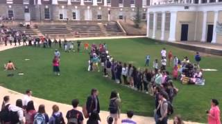 University of Virginia Students Respond to Protestors by Singing
