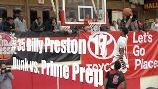 # 35 Billy Preston '17, Redondo Union, Dunk vs. Prime Prep, 12/27/14