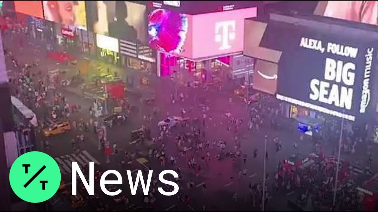 Times Square Panic Erupts After Motorcycle Backfire Confused for Gunshots
