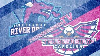 February 9, 2020- Columbus River Dragons vs. Carolina Thunderbirds