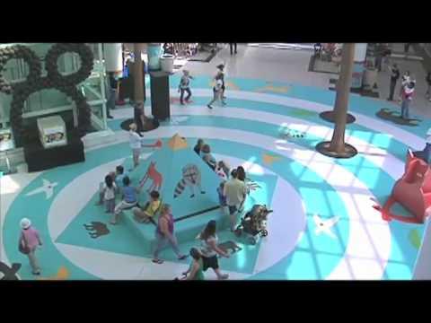 Танцевальный флэшмоб  репетиция. США, Сакраменто. 2012г