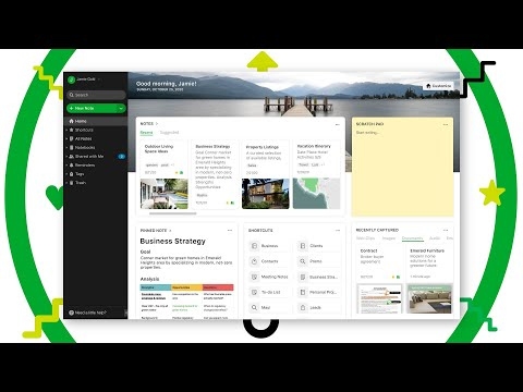 Introducing Home: A new way to start your day in Evernote