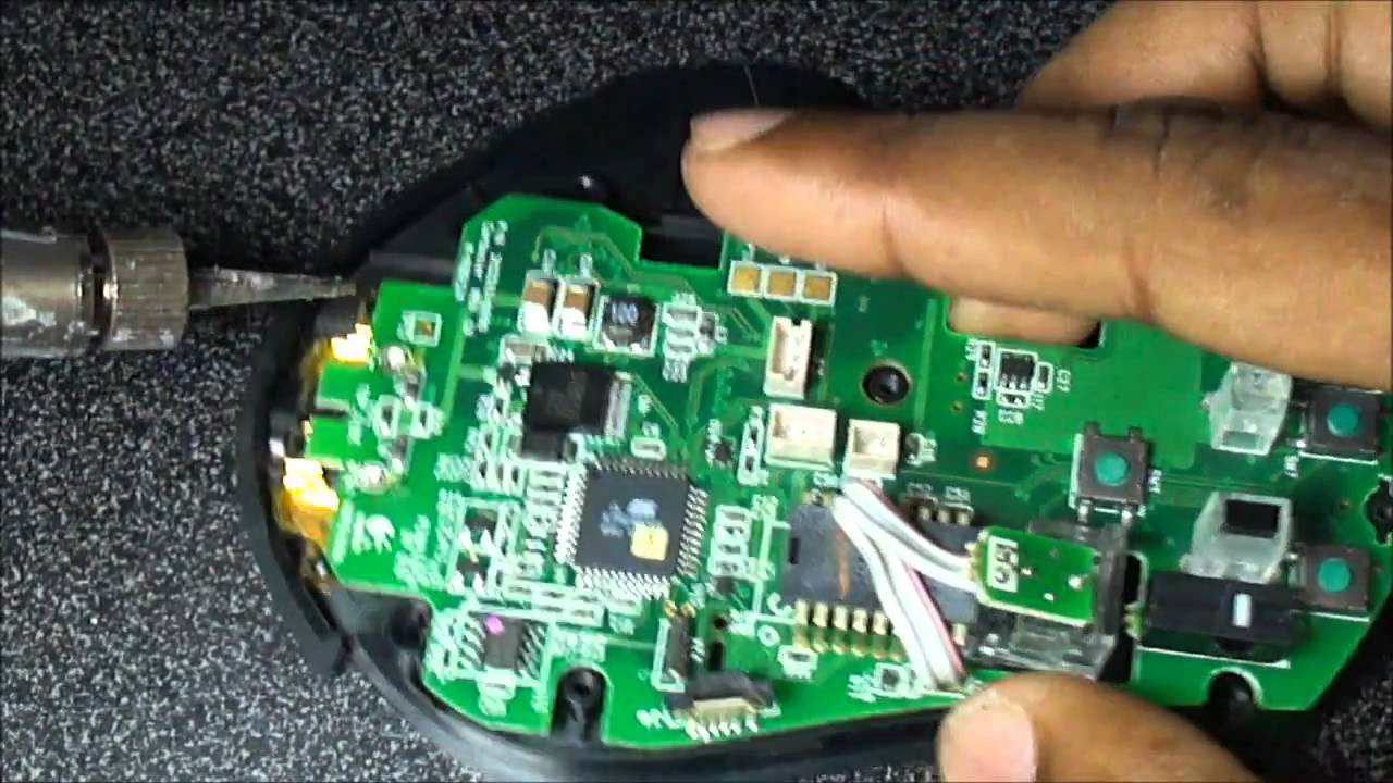 c1a350eb5c8 Logitech MX Revolution Laser Mouse., Disassembly Guide. - YouTube