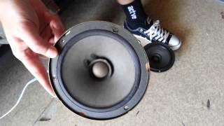 blowing my old door speakers with BASS  (SONG DOWNLOAD IN DESCRIPTION!!)