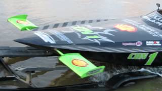 Jet Boat Test Runs on Charlie Lake