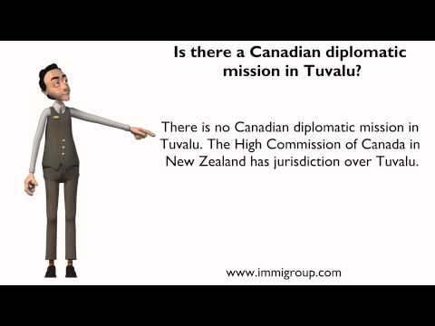 Is there a Canadian diplomatic mission in Tuvalu?