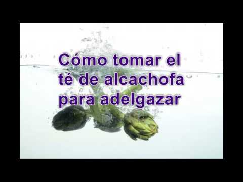 El te de alcachofa sirve para adelgazar