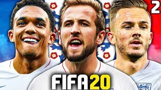 IT'S COMING HOME?!? INSANE WORLD CUP KNOCKOUT GAMES! FIFA 20 ENGLAND C