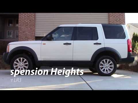 Rover Suspension Heights and Settings - Land Rover LR3 (LR4)