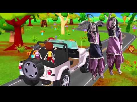 Nursery Rhymes ---/ Abbu Laye Motor Car Poems | ابّو لائے موٹر کار | Urdu Nursery Rhymes |  KidsPoem