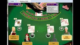 Hoyle Casino 1999 - Blackjack Game 3 (1/2)