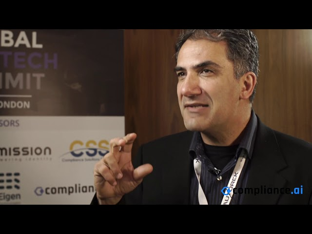 Global RegTech Summit 2019 - Interview with Kayvan Alikhani, Compliance.ai