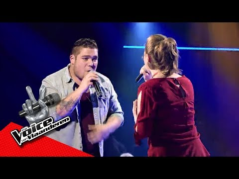 Dries en Marcia zingen 'Freedom' | The Battles | The Voice van Vlaanderen | VTM