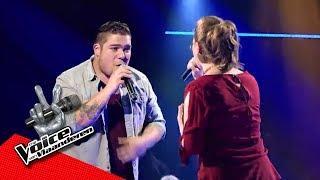 Dries en Marcia zingen 'Freedom' | The Battles | The Voice van Vlaanderen | VTM
