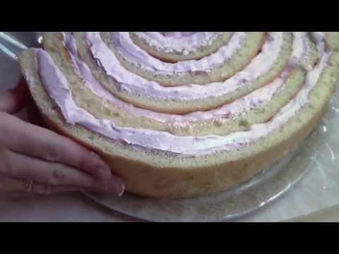 Торт - рулет.
