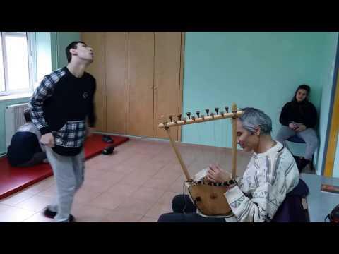 The healing power of music-Thanasis Kleopas plays ancient Greek lyra  autistic center Elpida