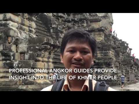 Professional Guide in Siem Reap Angkor, Cambodia