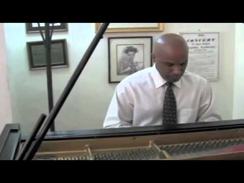 Chopin's Nocturne in C-sharp Minor played by adult piano student Hector Rodriguez