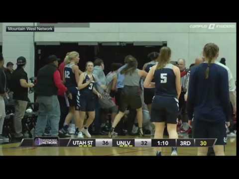 brawl-erupts-between-unlv,-utah-state-women's-basketball-teams