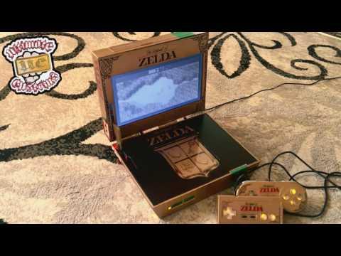 Legend of Zelda CUSTOM Treasure Chest Emulator NES Console!