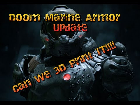 Doom Marine Suit Update