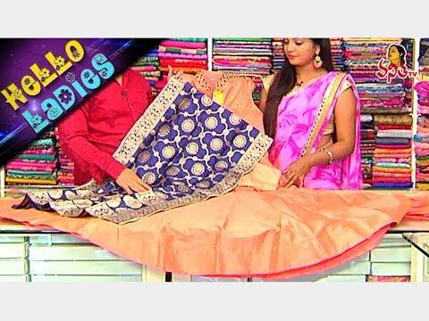 Party Wear Long Length Dresses || Raw Silk & Chanderi Fabrics || Hello Ladies || Vanitha TV