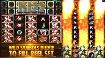 KISS® Shout it out Loud™ online slot game at Jackpot Party® casino