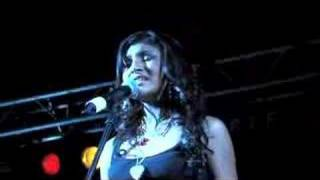 "Paula DeAnda-""When It Was Me"" live"
