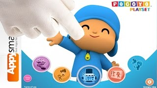 Pocoyo Playset - Number Party - game video for kids [iPad, preschool and up]