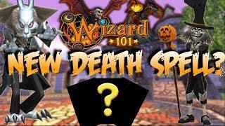 Will Death Get A New Spell?! (Wizard101 Halloween Update)