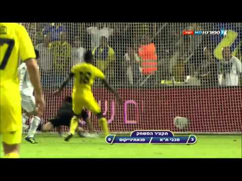 [HD] Europa League Maccabi tel Aviv 3-0 Panatinaikos All Goals And Highlights