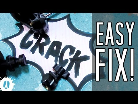 HOW TO Repair Broken And Cracked Plastic Parts // Cheap And Easy #LifeHack