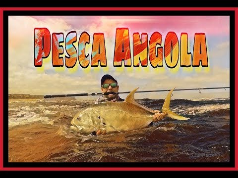 ZLF Fishing In Angola! Pesca Angola! The First Cast! Part 1