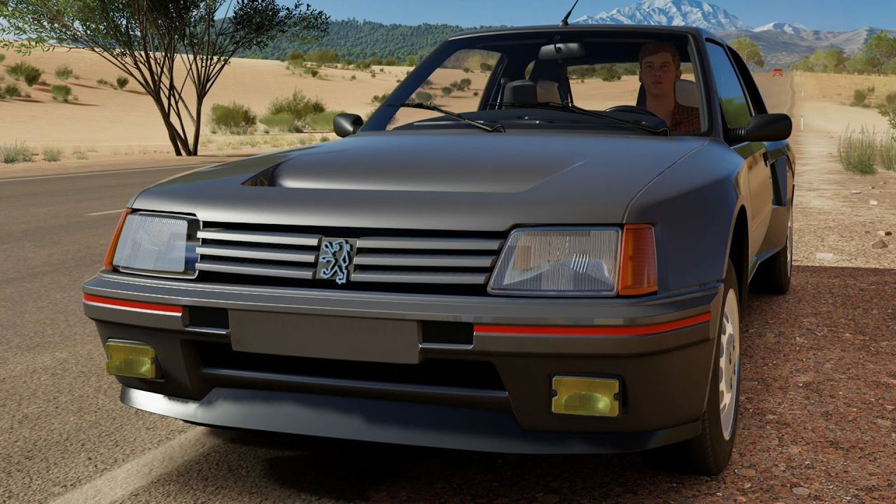Peugeot 205 5-door 1998 by 3D model store Humster3D.com - YouTube