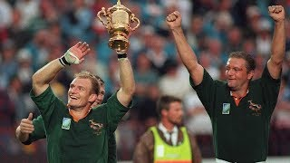 All Springbok Tries at Rugby World Cup 1995