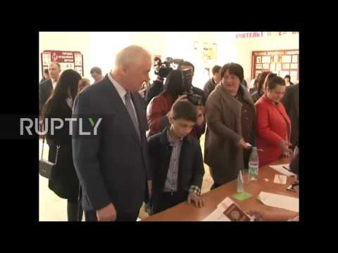 South Ossetia: South Ossetia holds presidential elections