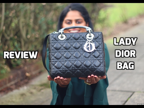 69656e692346 Review: Classic Lady Dior Bag (After using for 1 year) || Snigdha Reddy -  YouTube