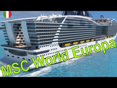 MSC World Europa - Rendering degli interni e in particolare delle cabine