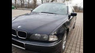 Обзор автомобиля BMW 520 1998 года. Интерьер. 1998 BMW 520. Interior