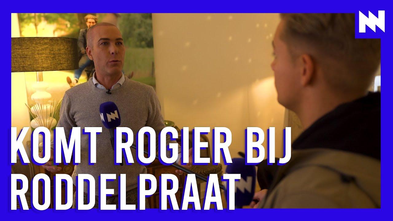 Dennis op bezoek bij Rogier: 'RoddelPraat? Leuk!'