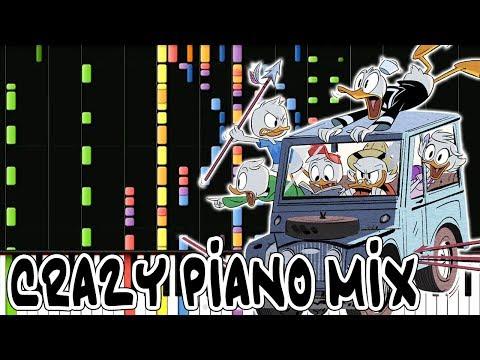 Crazy Piano Mix! DUCKTALES THEME