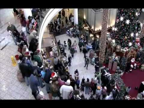 People Singing Christmas Songs At The Mall YouTube