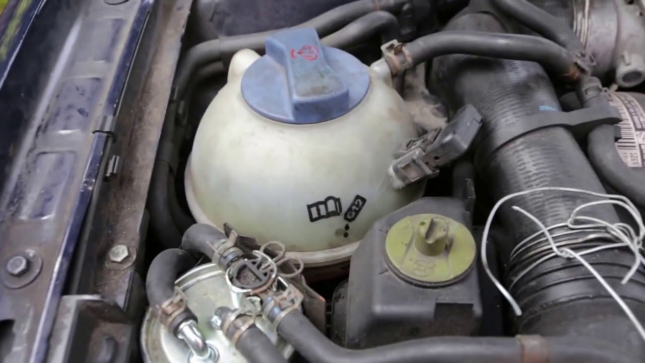 Vw Golf Mk4 Tdi Pd 19 Low Coolant Warning Finding Water 2004 Volkswagen Passat Engine Diagram Leaking Youtube